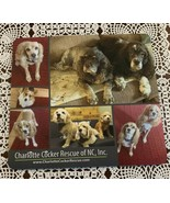 Brand New Charlotte Cocker Rescue North Carolina Mouse Pad Cocker Spaniels - $10.99