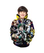 My Hero Academia Kid 3D Hoodie Sep Series Pullover Sweatshirt Pattern B - $19.99