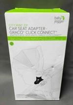 Baby Jogger City Mini ZIPCar Seat Adapter - Graco Click Connect, Black B... - $10.49