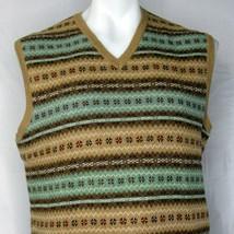 Ralph Lauren Purple Label Sweater Vest Size Medium Silk Cotton Blend Mad... - $199.99