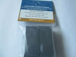Jacksonville Terminal Company # 205321 Gateway 20' Standard Container N-Scale image 3