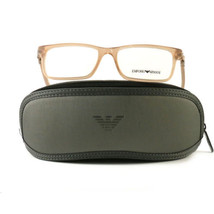 Emporio Armani EA3005 Eyeglasses 5084 Tan Beige Full Rim Plastic 51 16 135 - $57.00