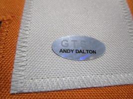 ANDY DALTON / AUTOGRAPHED CINCINNATI BENGALS CUSTOM FOOTBALL JERSEY / DALTON COA image 6