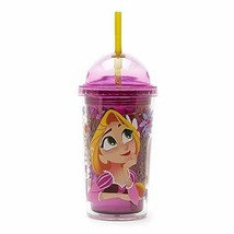 Disney Parks Rapunzel Tangled Domed 12 oz. Tumbler with Straw - $34.60