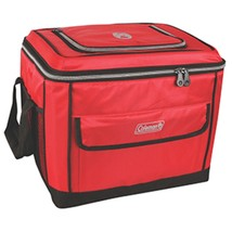 Coleman 40 Can Collapsible Cooler - Red - $44.77