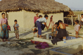 35mm Slide TUP Nepal Local Small Village Life People (#22) - $4.75