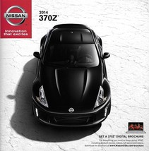 2014 Nissan Z sales brochure catalog sheet US 14 370Z NISMO Touring Road... - $8.00