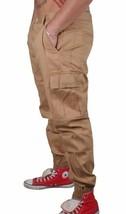 Staple Cachi Cargo Joggers Pantaloni Jeans 1509B2905 Nwt image 2