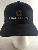 Pinal County Baseball Cap Flexfit L-XL Hat Dark Blue - $18.00