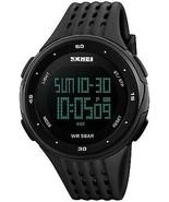 Dual Time Countdown Digital Sports Watch 12/24H Military Waterproof Cas... - $38.11