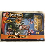 Angry Birds Star Wars Fighter Pods Jenga Death Star Game - $54.95