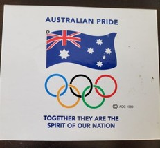 Australia Set of 5 Olympic Beer Drink Coasters Mancave Bar Kitchen Sports Sidney - $10.39