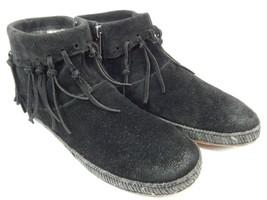 Ugg Australia Shenendoah Echt Shearling Line Stiefeletten Stiefel Größe 7 M (B)