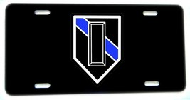Thin Blue Line Police Sheriff Lieutenant LT. Rank License plate - $13.81