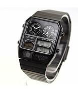 [CITIZEN] CITIZEN ANA-DIGI TEMP reprint model watch black JG2105-93E - $379.65