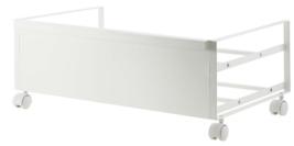 YAMAZAKI home Frame Rolling Shoe Rack, White - $95.38