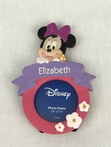 """Disney Minnie Mouse Elizabeth Hanging Standing Photo Frame 1.5"""" Personalized - $12.97"""