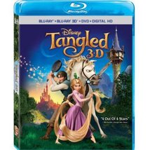 Disney Tangled (3D Blu-ray + Blu-ray + DVD)