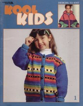 KOOL KIDS DESIGNS TO KNIT--BOOK 1--LEISURE ARTS... - $4.99