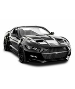 2018 FORD MUSTANG (BLACK) POSTER 24 X 36 INCH - $21.77