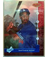 2005 BOWMAN'S BEST RED #96 MATTHEW KEMP/199 FY - $32.61