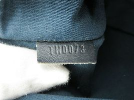 Authentic LOUIS VUITTON Marjorie Blue Monogram Mini Lin Shoulder Bag #34709 image 11