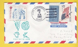 TV BY TELSTAR CAPE KENNEDY LOCAL POST CAPE CANAVERAL FL JULY 2 1965 - $2.68
