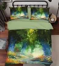 3D Dream Forest 227 Bed Pillowcases Quilt Duvet Single Queen King US Summer - $102.84+