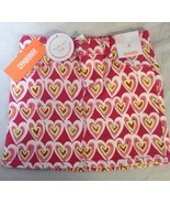 Gymboree Scribble Heart Skirt Girls Size 4 Valentine's Day Pink Yellow Play By - $9.89