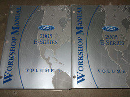 2005 Ford Econoline E Series Van Service Shop Repair Workshop Manual Set... - $89.09