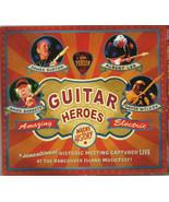 James Burton, Albert Lee, Amos Garrett, David Wilcox  – Guitar Heroes CD   - $16.99