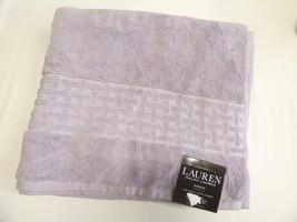 "$34.00 Lauren Ralph Lauren Pierce Bath Towel 30"" x 56"", April Purple - $9.16"
