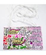 Motivational Healing Words Art Mini Hanging Mixed Media - $7.95