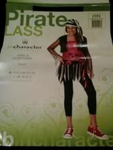 Tween Kids Punk Pirate Outfit Girls Halloween Costume - $20.98