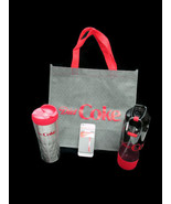 Diet Coke Gift Bundle Bag Insulated Tumbler Water Bottle Smart Wallet BR... - $27.72