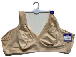 Catherines Full-Coverage SIMPLY COOL NO WIRE  Bra Women's Plus Siz 54C B... - $25.99