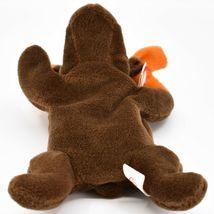 1993 TY Beanie Baby Original Chocolate the Moose PVC Beanbag Plus Toy Doll image 5