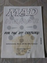 Mad Magazine August 1998 #372 Just Shoot Me Everybody Loves Raymond Jerry - $8.89
