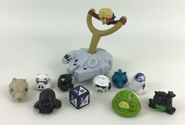 Angry Birds Star Wars Slingshot Game 2012 R2D2 Green Pig Stormtrooper Ha... - $24.70