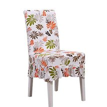 Koala Superstore Elastic Short Chair Covers 2 Pcs Fit Stretch Seat Cloth... - $25.71