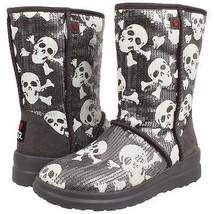 NEW Ugg Australia Boots I Heart Ugg Sequin Sparkle Skull 3 /  34 euro  - $59.99