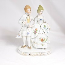 Made In Japan Couple Boy and Girl Figurine Repaired Head - $4.00