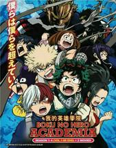 BOKU NO HERO ACADEMIA SEASON 1-4 (VOL.1-88 END) + 2 MOVIES DVD Ship From USA