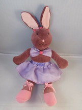 """Manhattan Toys Rabbit Ballerina Plush Ballet Bunny 9"""" 2001 Stuffed Animal - $18.07"""