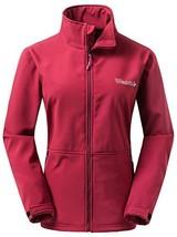 Wantdo Women's Soft Shell Outdoor Sport Water-resistant JacketRed, US L - $871,75 MXN