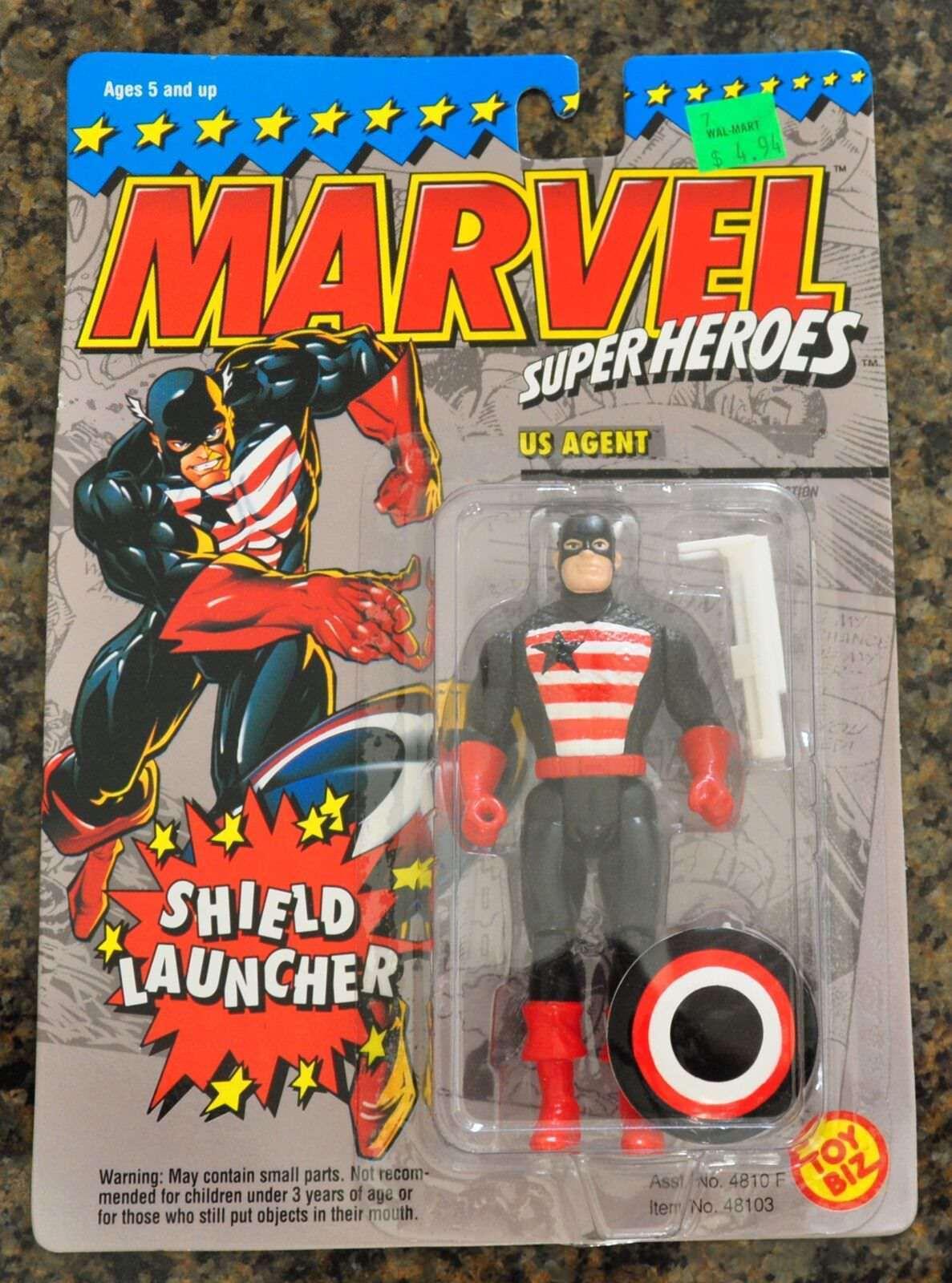 ToyBiz Marvel Super Heroes Action Figure Mint on Card (MOC)