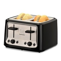 Toastmaster TM-46TS 4-Slice Cool Touch Toaster NEW - $34.95