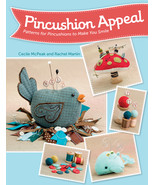 Pincushion Appeal pattern book JABC Just Another Button Company - $15.30