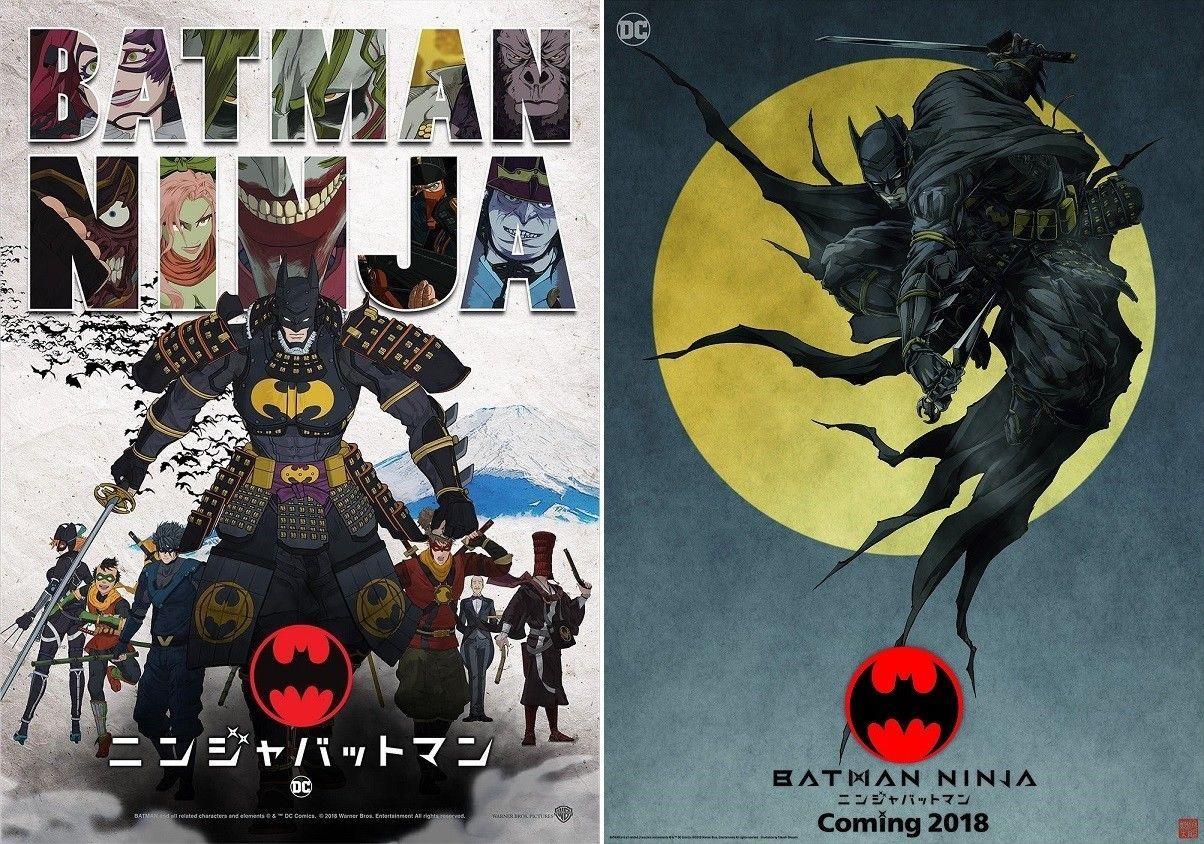 Batman Ninja Movie Poster High Quality Prints 2018 film