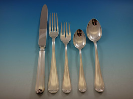 Mauriziano by Schiavon Italy Sterling Silver Flatware Set Service 129 Pieces New - $15,500.00